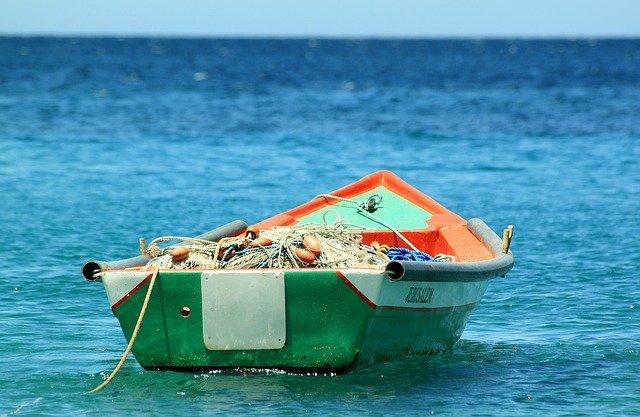 alu boat for fisherman